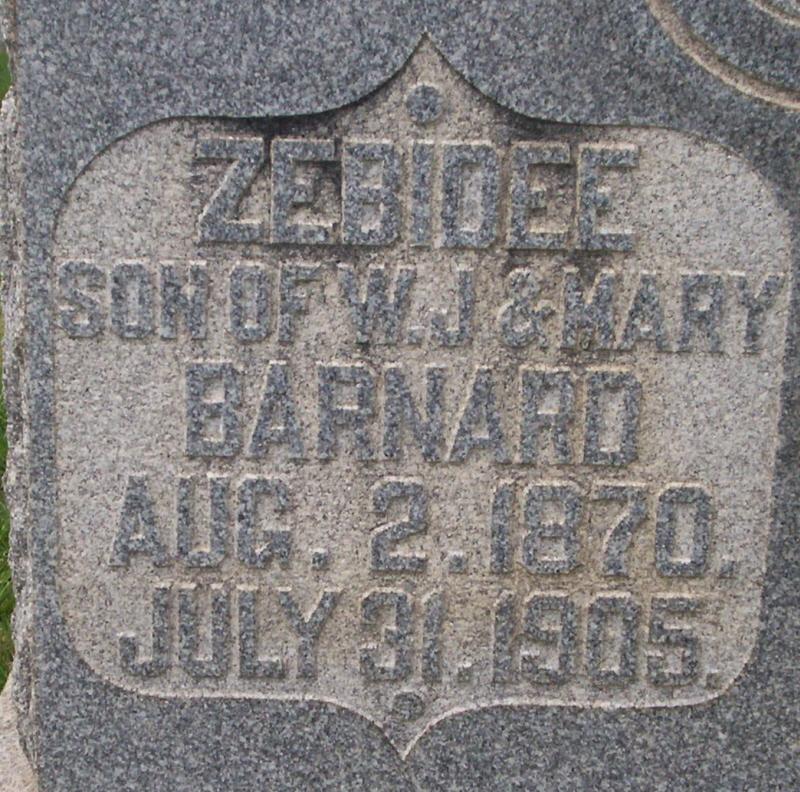 Zebidee Barnard