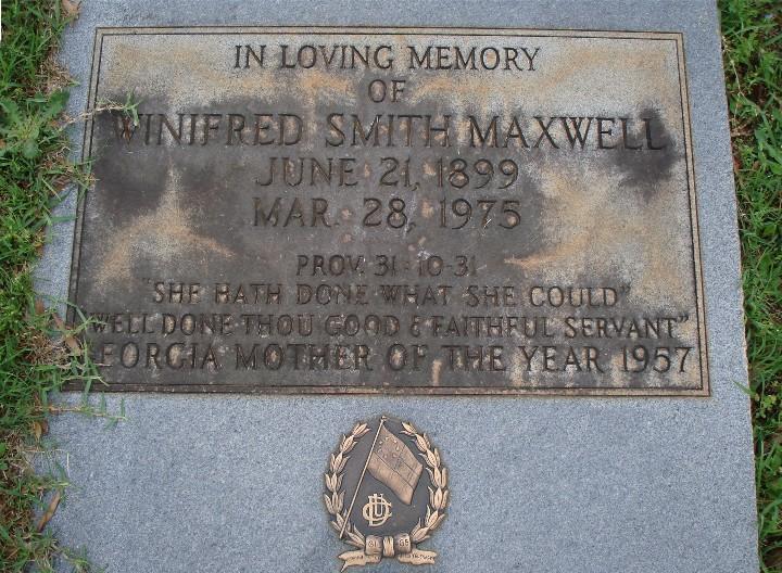 Winifred Louise <i>Smith</i> Maxwell