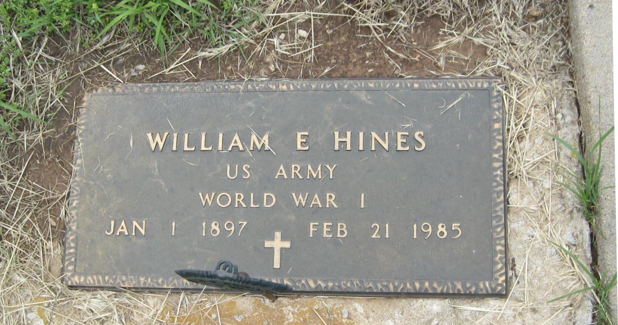 William E Hines