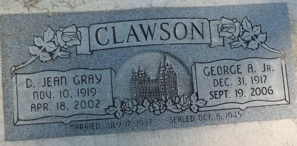 Dorothy Jean <i>Gray</i> Clawson