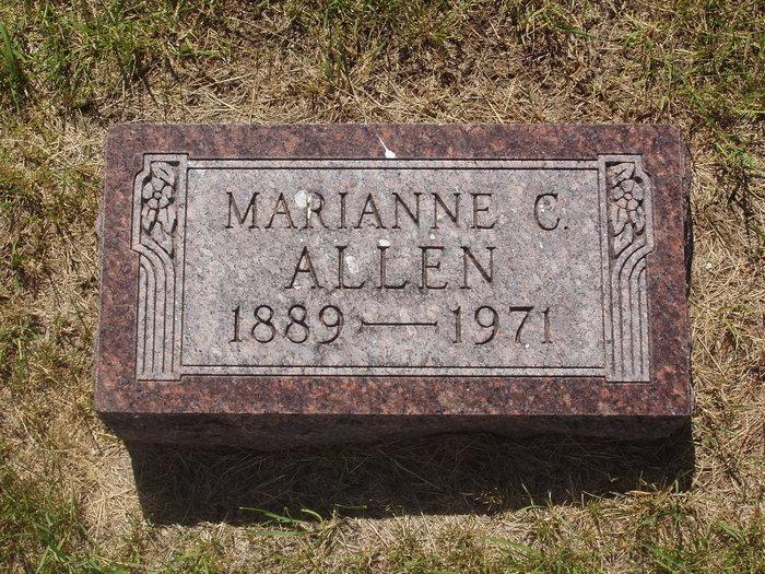 Marianne C <i>Dahlberg</i> Allen