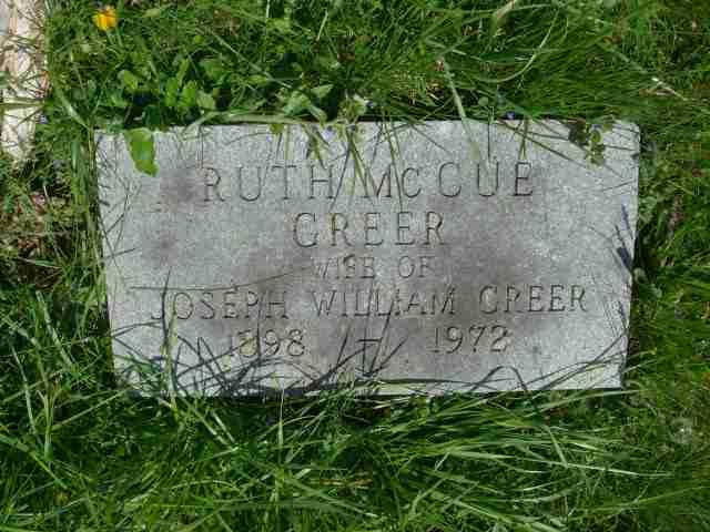Ruth <i>McCue</i> Greer