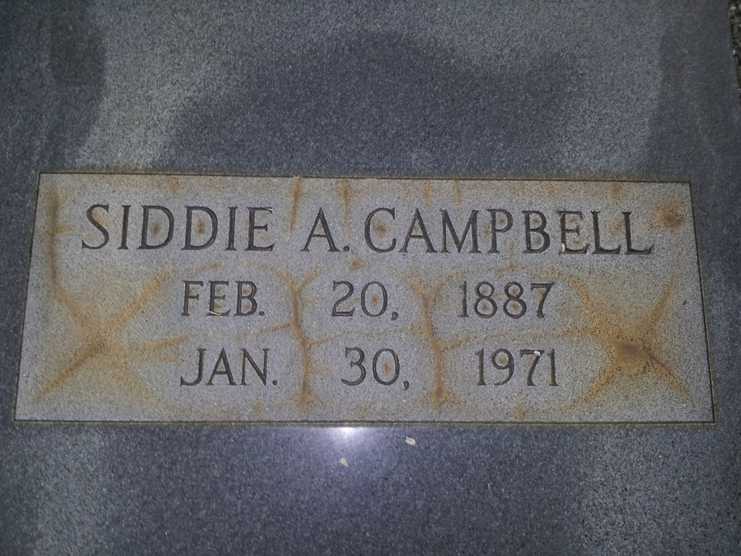 Siddie A. <i>Browning</i> Campbell