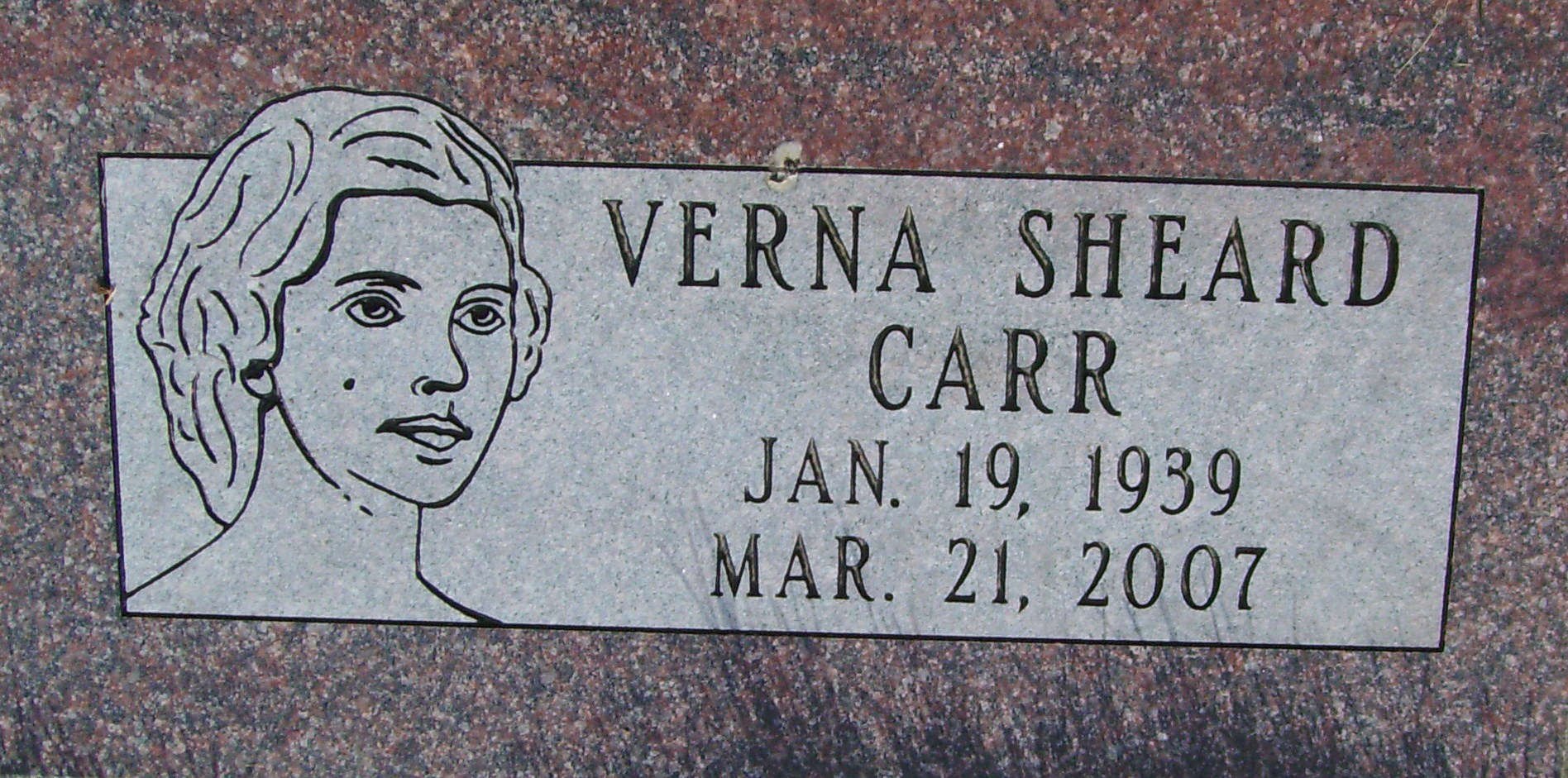Verna <i>Sheard</i> Carr