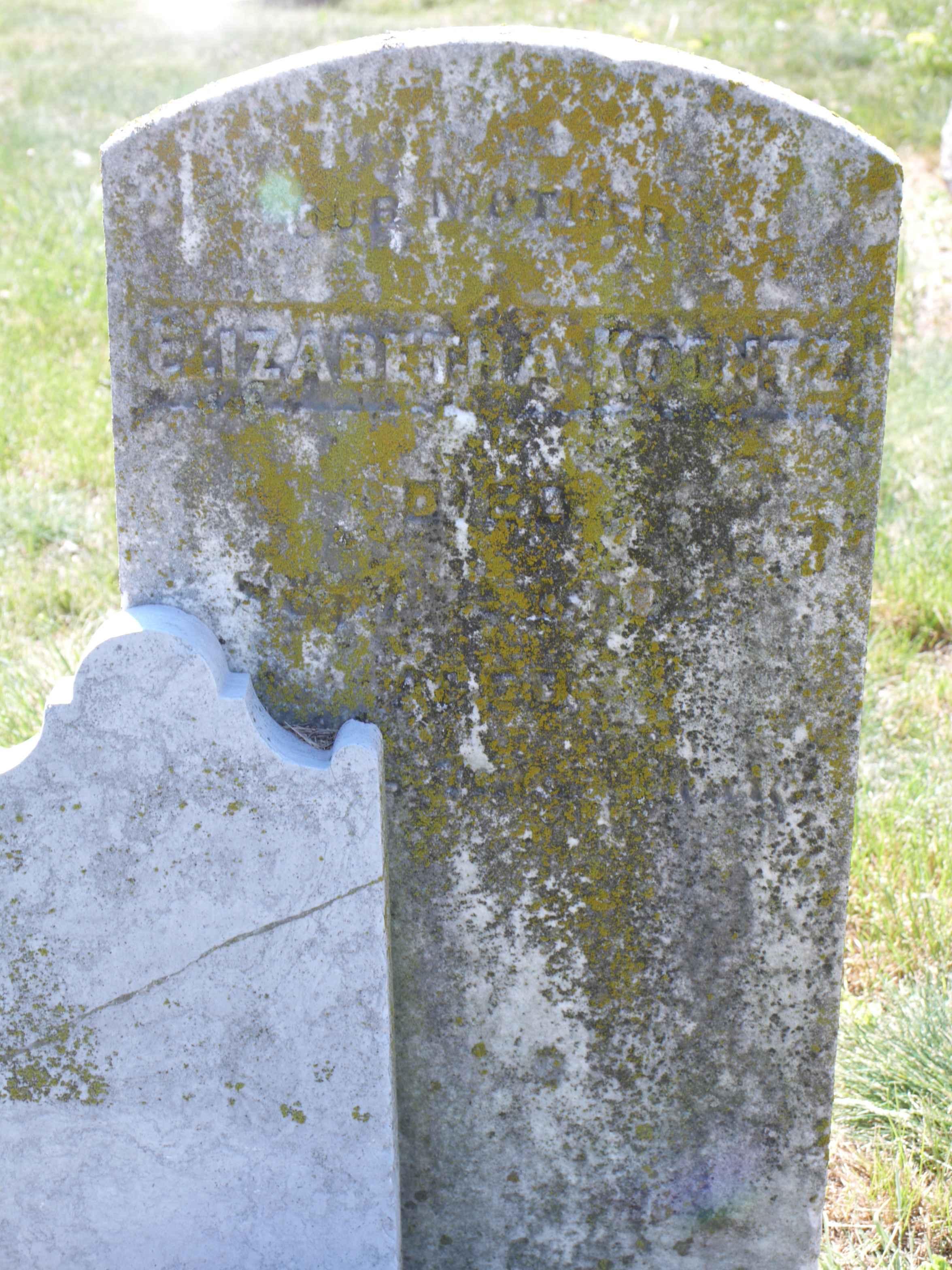 Elizabeth Ann Betsy <i>Lincoln</i> Koontz
