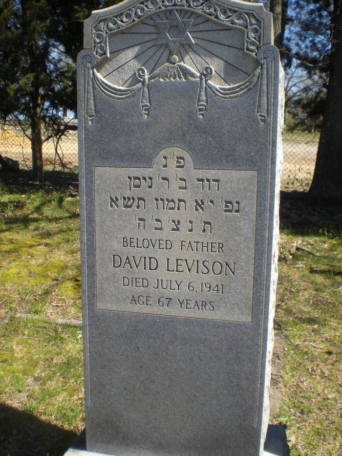 David <i>Leiwensohn</i> Levison