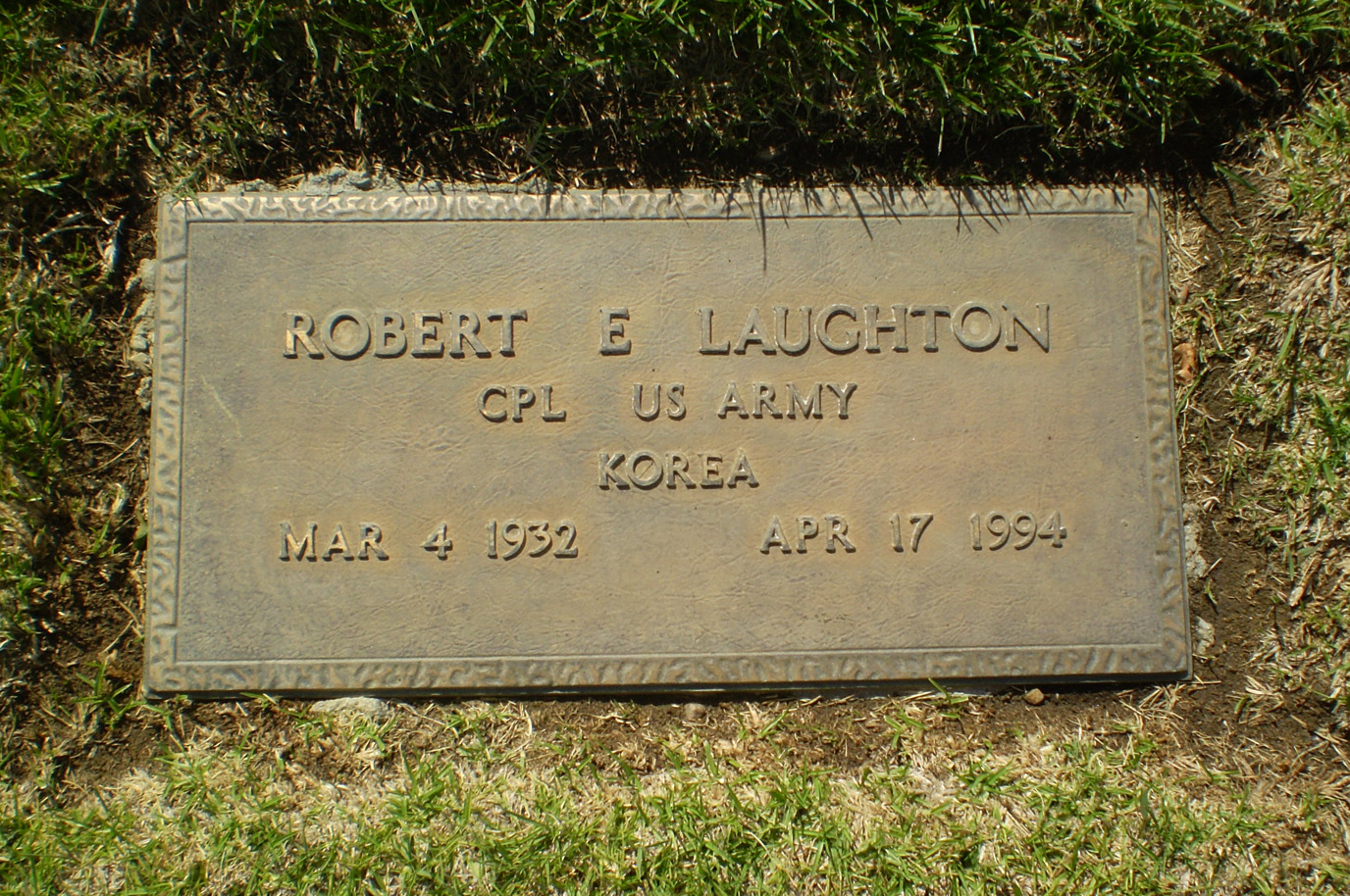 Robert Edward Laughton