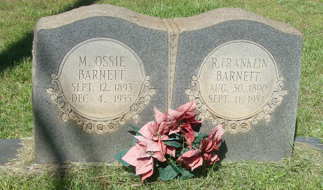 Mary Ossie <i>McCall</i> Barnett
