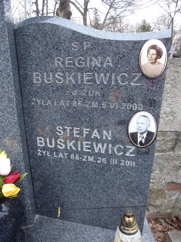 Regina <i>&#379;uk</i> Bu&#347;kiewicz