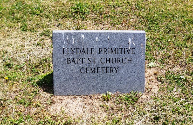 Elydale Primitive Baptist Church Cemetery