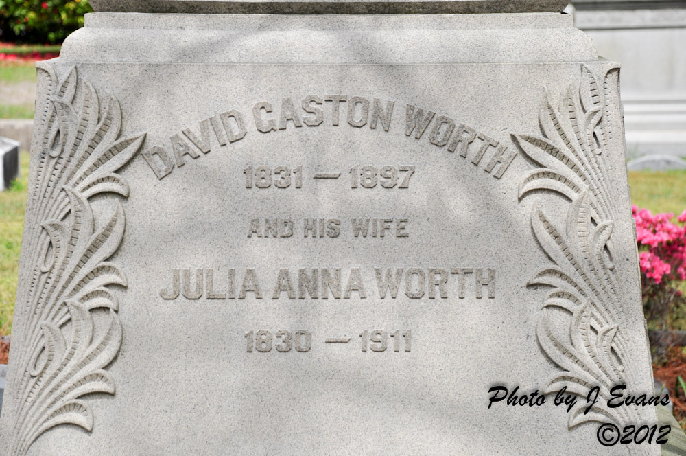 Julia Anna <i>Stickney</i> Worth