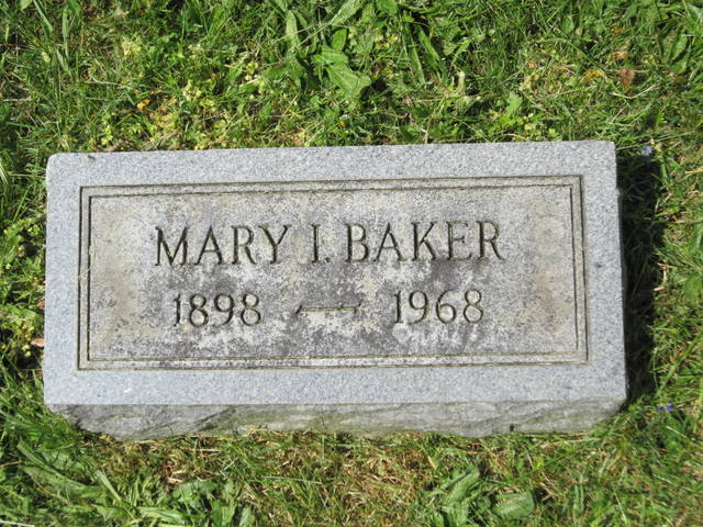 Mary Isabelle <i>Stottlemyer</i> Baker