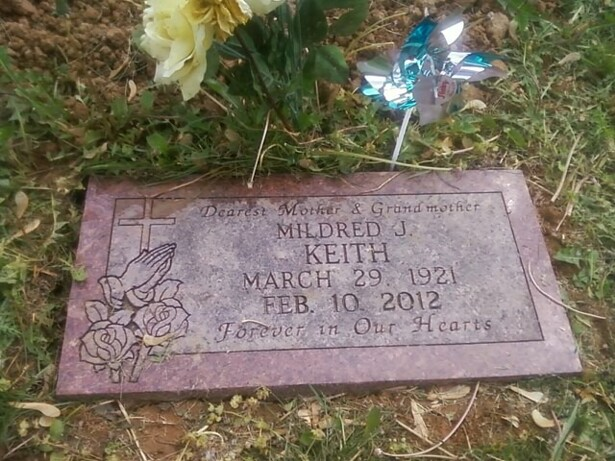 Mildred Jean <i>Withers</i> Keith