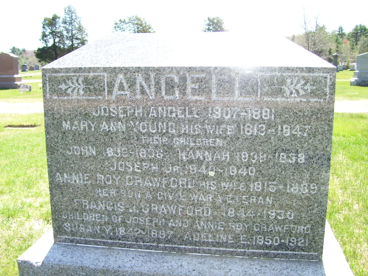 Mary Ann <i>Young</i> Angell