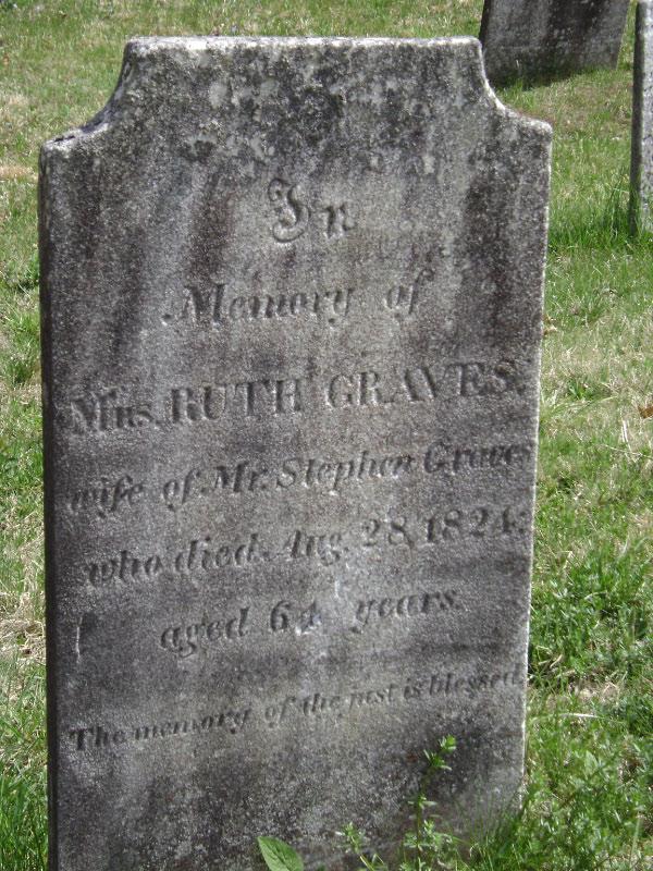 Ruth <i>Jerome</i> Graves