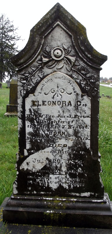 Eleonora C. <i>Herbst</i> Brown