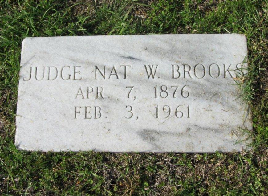 Judge Nat W. Brooks