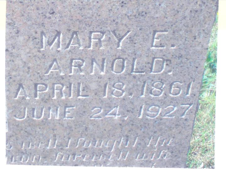 Mary Elizabeth <i>Langley</i> Arnold