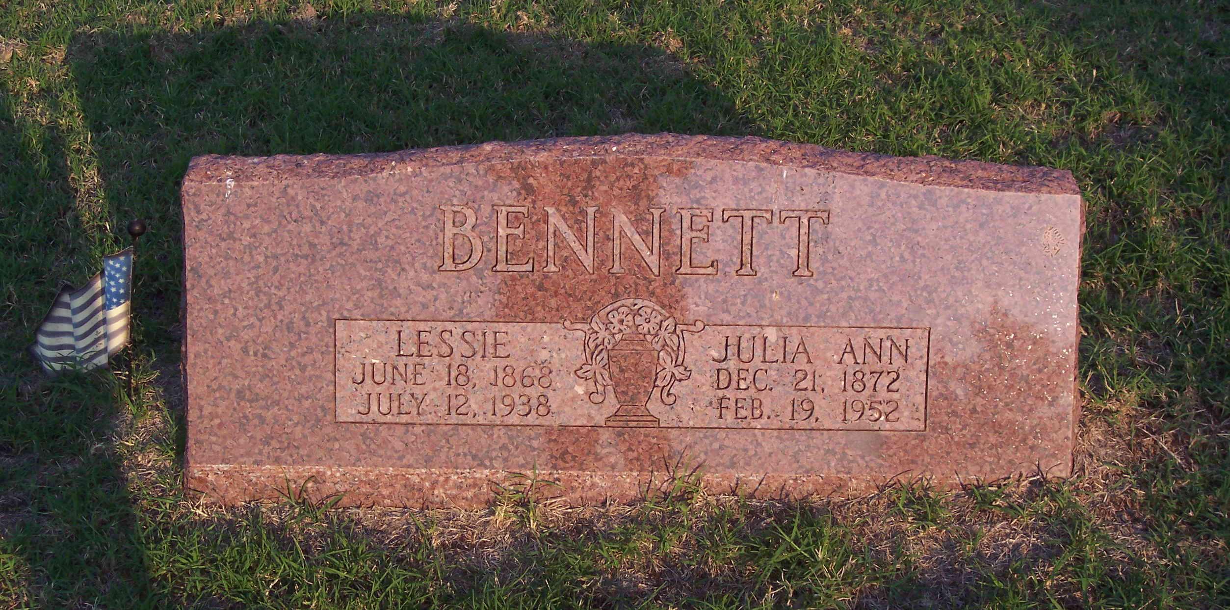 Julia Ann Bennett