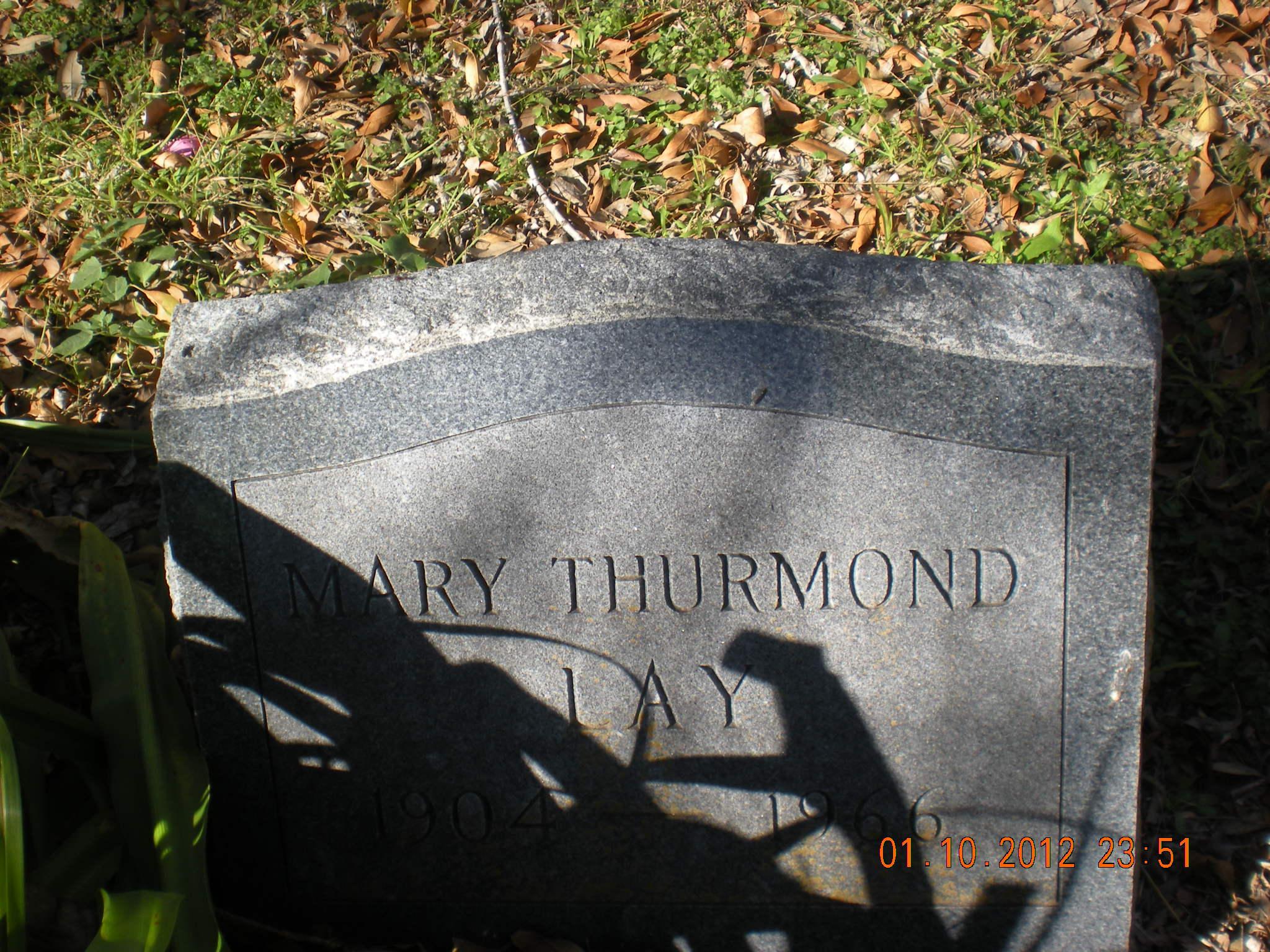 Mary <i>Thurmond</i> Lay