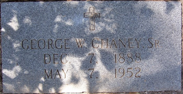 George Wilson Chaney, Sr