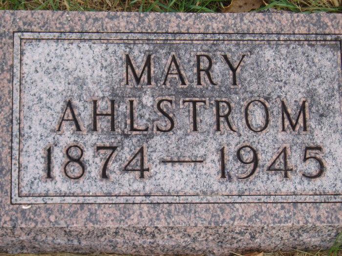 Mary Elizabeth <i>Rydeen</i> Ahlstrom