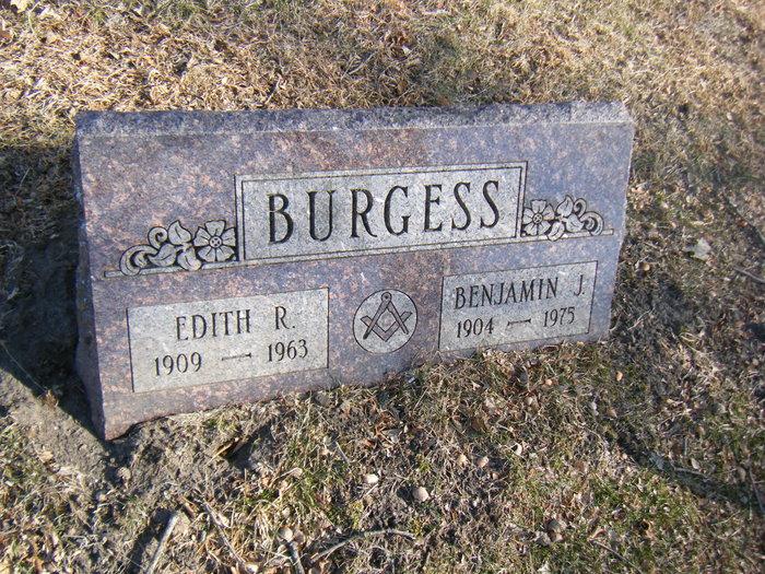 Edith R <i>DONALDSON</i> Burgess