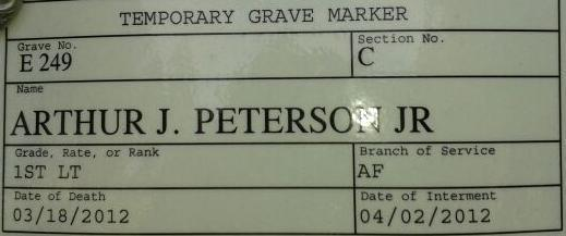 Arthur Julius Bud Peterson, Jr