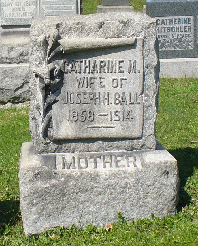 Catharine M Ball