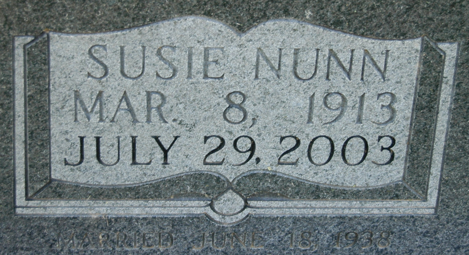 Susie <i>Nunn</i> Harbison