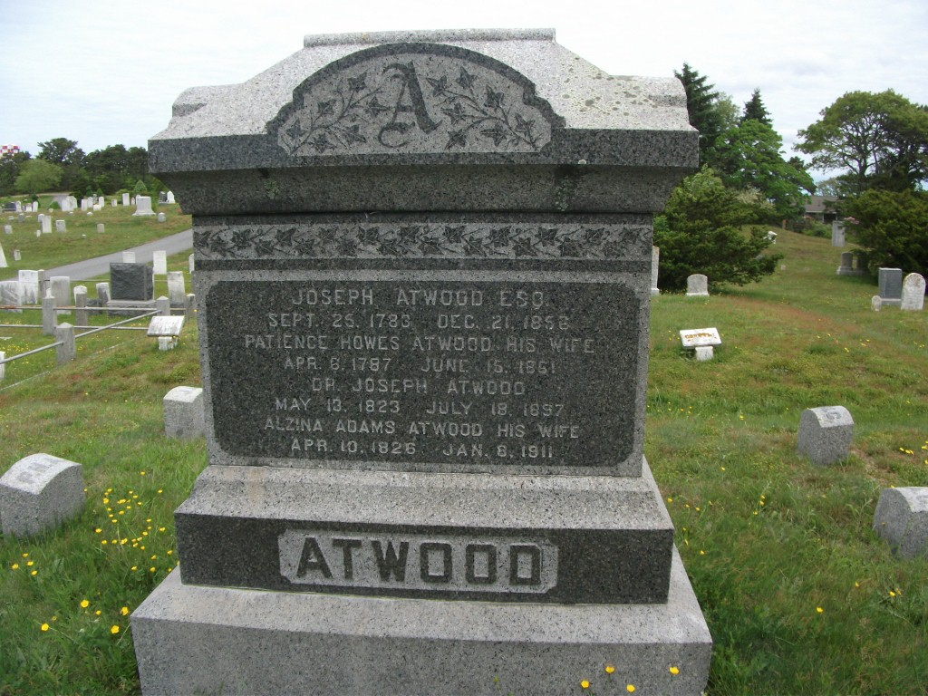 Patience <i>Howes</i> Atwood