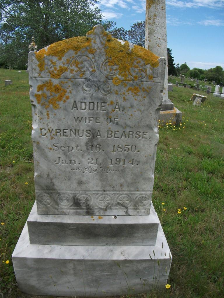 Addie A <i>Taylor</i> Bearse