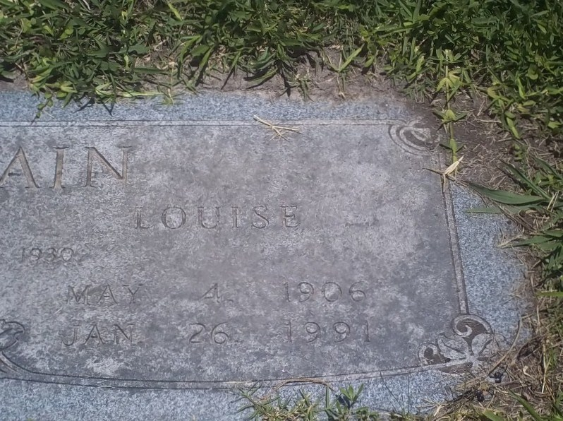 Louise <i>Allbright</i> Chastain