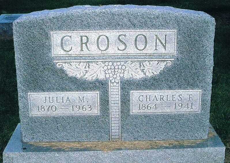 Julia May <i>McConnell</i> Croson