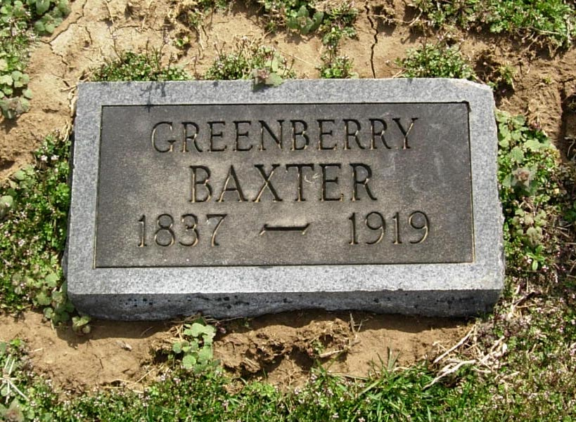 Greenberry Uncle Green Baxter