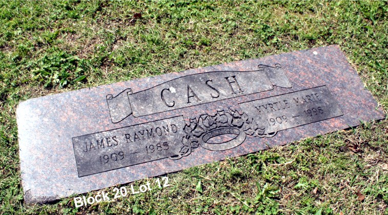 James Raymond R.J. Ray Cash