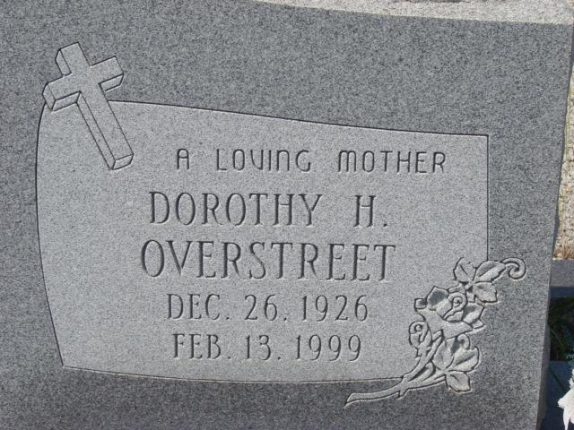 Dorothy <i>Hendrix</i> Overstreet