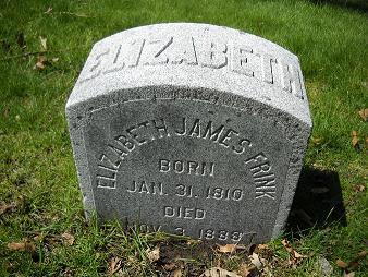 Elizabeth <i>James</i> Frink