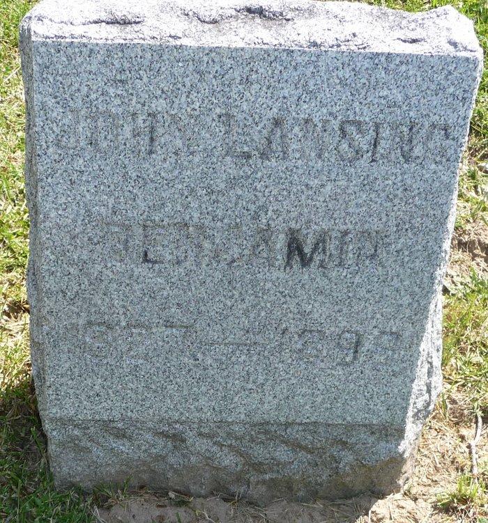 John Lansing Benjamin