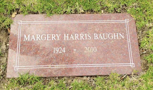 Margery T <i>Harris</i> Baughn
