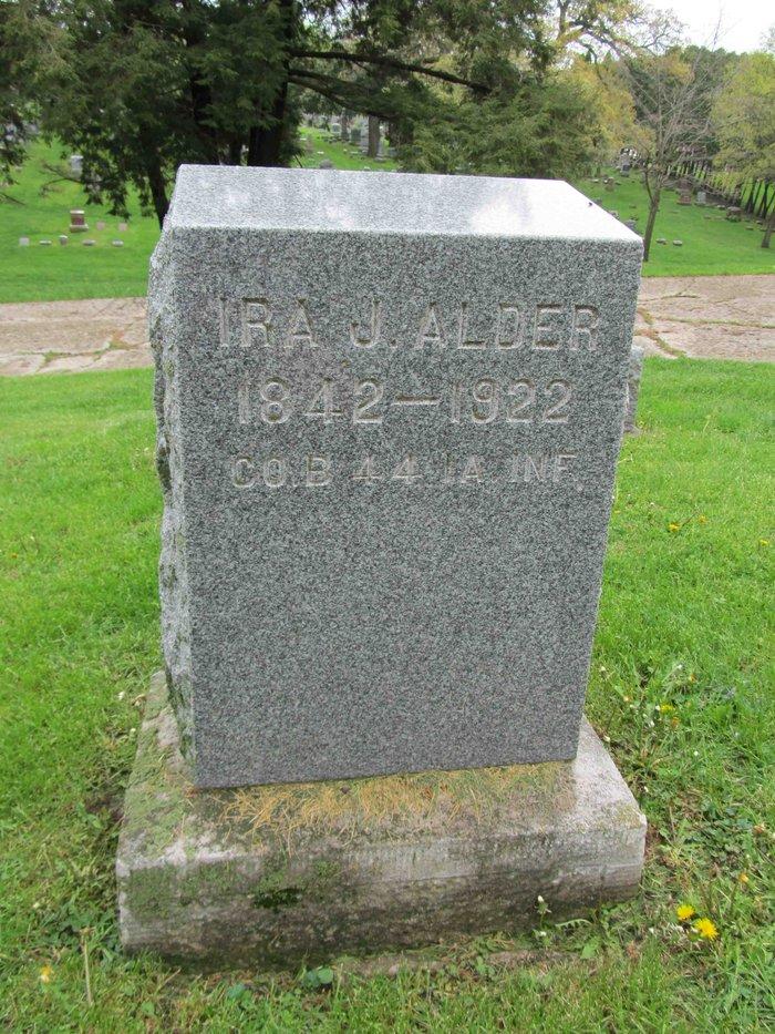 Pvt Ira John Alder