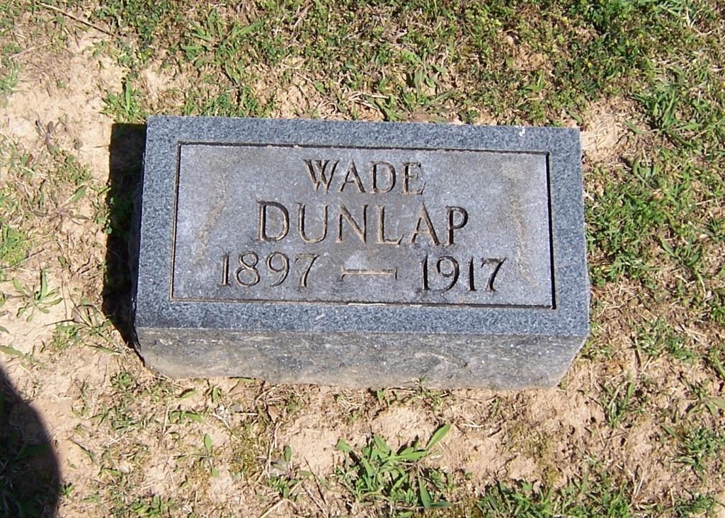 Ernest Wade Dunlap