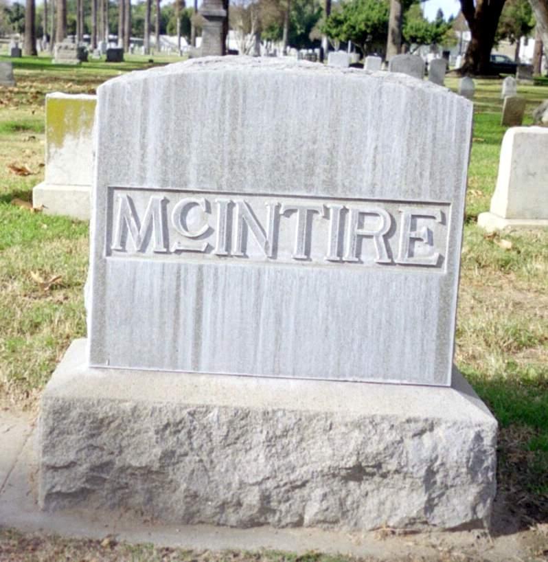 Mary Martinea <i>Miller</i> McIntire