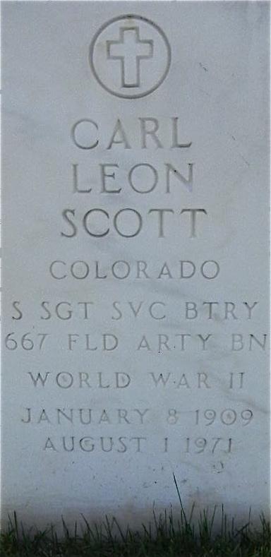 Carl Leon Scott