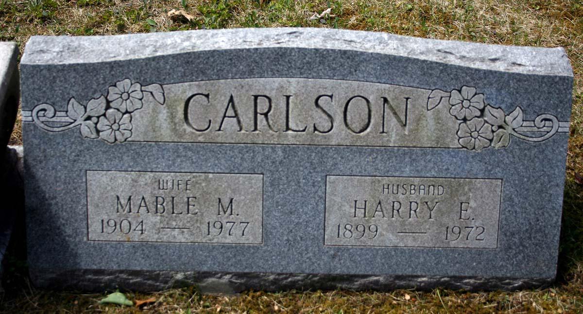Mabel Matilda <i>Tufts</i> Carlson
