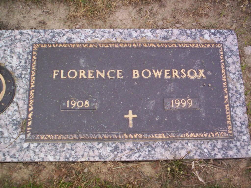 Florence V <i>Dickson</i> Bowersox