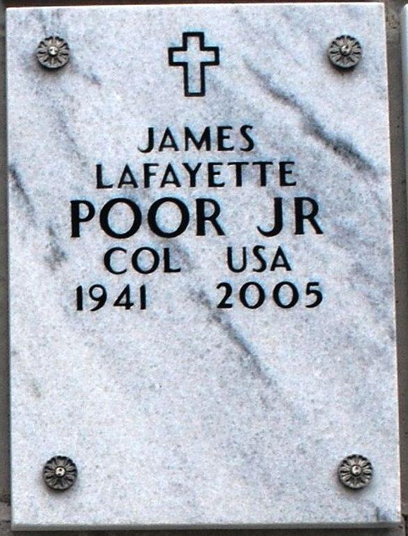 James Lafayette Poor