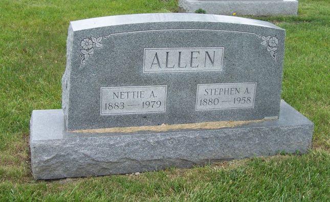Nettie Alice <i>Schaub</i> Allen