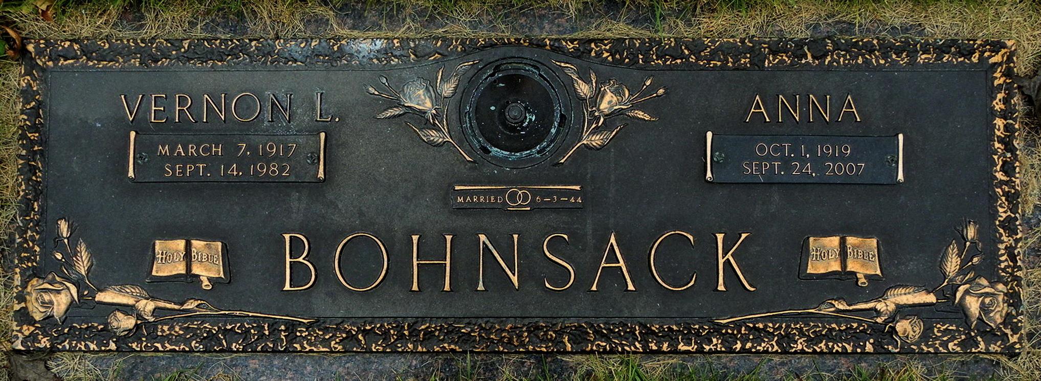 Anna <i>Bloch</i> Bohnsack