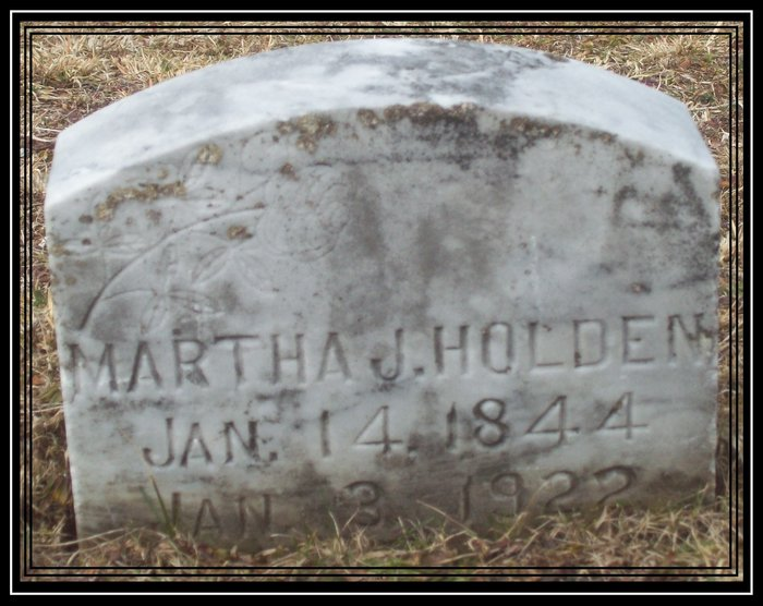 Martha J Holden